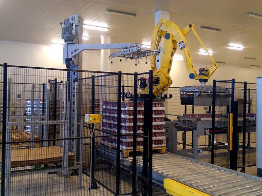 FL-PAL robot palletizer with gripper